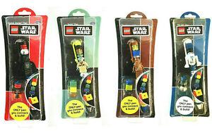 STAR WARS 4 x ball-pen 15cm from Hasbro Lego