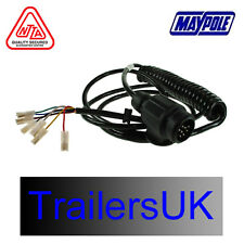 Ifor Williams 13pin Euro Plug Trailer Connection Lead With Spade Terminals
