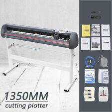 53 Cutter Vinyl Cutter Plotter Cutting Machine Printer Withsoftware Supplies
