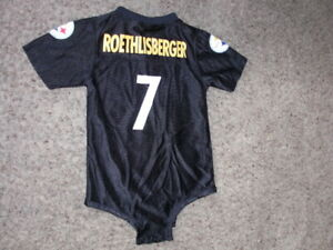 Pittsburgh Steelers BEN ROETHLISBERGER Football Jersey BABY Infant 24 Months