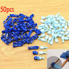 50x Car Audio Quick Splice Lock Wire Terminals Connectors Electrical Crimp Tools