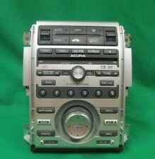 2005 Acura RL Radio Receiver CD Player Climate Control Unit OEM LKQ