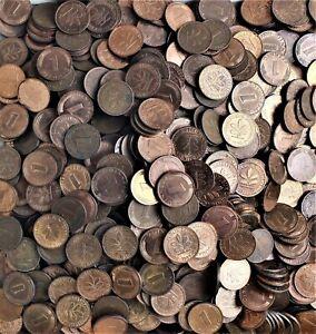 Deutschland BRD 1000 x 1 Pfennig Münzen Glückspfennig