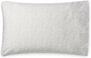 Ralph Lauren King Pillowcases Spencer Leaf Sateen  Grey 100% Cott. 2 Pk.MSRP $85