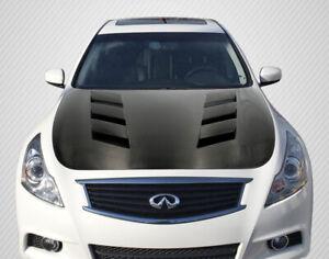 07-13 Fits Infiniti G Sedan AM-S DriTech Carbon Fiber Body Kit- Hood!!! 112964