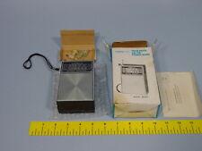 Model 825. Pocket Radio In Box. |