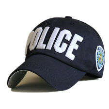 Blue/Black Police Officer Law Enforcement Cop Baseball Ball Cap Hat Caps Hats