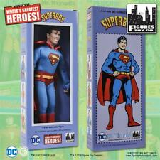 """DC Comics retro SUPERBOY 8"""" inch Action figure with classic retro styled box"""