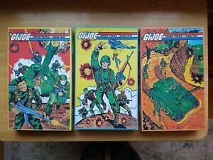1982 GI Joe Three (3) Jigsaw Puzzles APC Hasbro 100% Complete - 200 Pieces ARAH