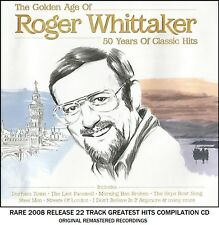 Roger Whittaker - Very Best Greatest Hits Collection RARE CD Easy Listening Folk