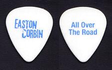 Easton Corbin All Over The Road White Guitar Pick - 2012 Tour