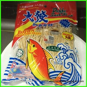 SNACK DRIED FISH FILLET