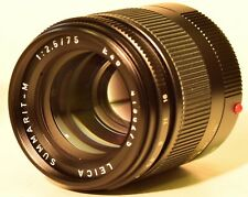 75mm Leitz Summarit-M f2.5 Mint