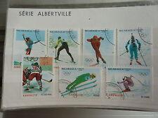- NICARAGUA - sports - jeux olympiques - JO ALBERTVILLE - 1992 - 2