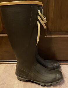 "Men's LaCrosse 18"" Pac Rubber Boots Waterproof Cabelas Size 11"