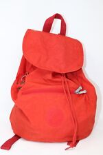 Kipling RARE Vintage Medium Rugsack back pack Monkey Red Blogger Fashion casual