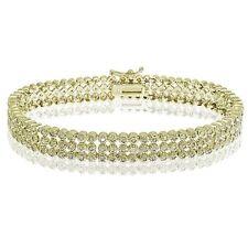 Diamant Echtschmuck-Armbänder aus Gelbgold