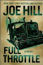 FULL THROTTLE STORIES JOE HILL SIGNED 1ST EDITION HARDCOVER
