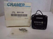 NEW CRAMER 6X139 HOUR METER