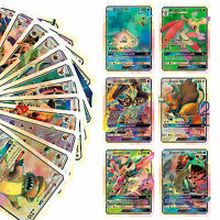 20pcs Pokemon GX Karte Alle MEGA Holo Flash Trading Cards Charizard Venusaur