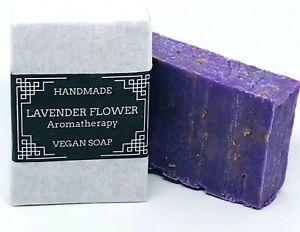 Lavender Handmade Soap Essential Oil Moisturising Vegan Eco Friendly No Plastic