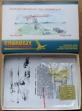 V09-POLISH HEAVY MACHINE G. 7,92 mm BROW. wz.30-Choroszy Modelbud-1/35
