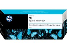 ORIGINAL HP 91 C9465A foto negro 775ml Designjet Z6100 a-artículo MHD 04/2017