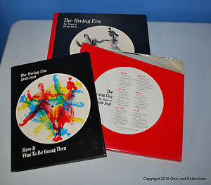 Swing Era Music of 1940-1941 1970 3 LPs and Book box set Time Life