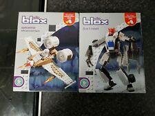 Blox Spaceship And 3 In 1 Robot Wilko Brand New Sealed