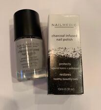 Nailmedic Charcoal Infused Nail Polish Lava NIB