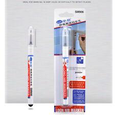 20mm Deep Drill Hole Long Nib Marker Pen Black Home Hareware Car Book Shelf Mark