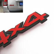 Metal 4X4 Logo Emblem Car Off-Road SUV Body Exterior Decoration 3M Sticker Decal