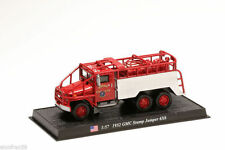 Camion sapeurs pompiers Diecast 1952 GMC STUMP JUMPER 6X6 1:57 DelpradoCBO044