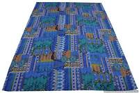 Indian Kantha Quilt Indian Handmade Bedspread Throw Cotton Gudari Ethnic Blanket