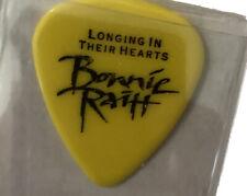 Bonnie Raitt Longing In Their Hearts Concert Guitar Pick