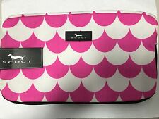 Scout 3 way Comsetic Bag Pink/White Pattern New