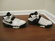Classic 2003 Used Worn Size 9.5 Nike Air Force Max B Shoes White Black Silver