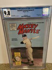 Mickey Mantle [Baseball's Greatest Heroes] #1 (Dec 1991, Magnum Comics) CGC 9.8