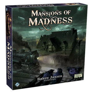 Mansions of Madness Horrific Journeys Expansion Board Game NEW