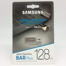 Samsung 128GB Bar Plus USB 3.1 Flash Drive MUF-128BE3/AM - NEW - No Limit