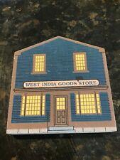 "Cat's Meow Village Rt Salem,Mass ""West India Goods"" Market St Series 1989"