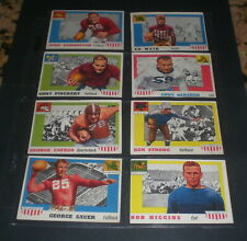 1955 TOPPS ALL AMERICAN FOOTBALL CARDS - YOUR CHOICE -  $7 EACH - YOU PICK