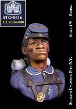 LA FORTEZZA SCALE MODEL STO-0416 - SOLDATO UNIONISTA 54th N.Y. BUST 1/9 RESIN