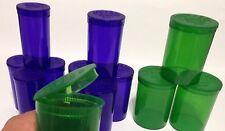 12x New Empty RX Prescription Pill Bottle,Vials, USA,Wholesale Pop Tops 3  SIZES