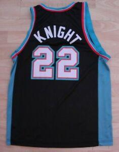 Champion Memphis Grizzlies Brevin Knight NBA jersey M 40 Dickerson HTF Grail #22
