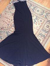 Black Mango Maxi Dress Uk Size Small