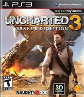 🔥 Uncharted 3: Drake's Deception Playstation 3 PS3  Complete CIB