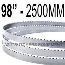 "Butchers Meat Bandsaw Blades (5 Pack). 98"" (2500mm) X 5/8"" X 4tpi"