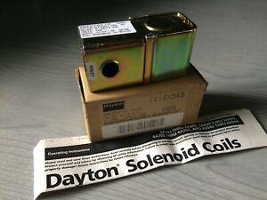 Dayton Solenoid Coil 6X543 120 Volt AC NEW