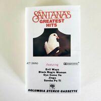 Santana - Cassette - Santana's Greatest Hits